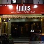 Andes BYO @ Aman Suria (Invited Review)