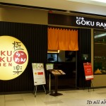 Goku Raku Ramen @ Paradigm Mall (Invited Review)