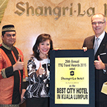 Shangri-La Hotel KL Wins For The Best City Hotel & For Best Service