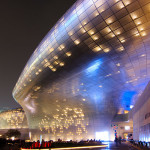 Dongdaemun Design Plaza (DDP) at Seoul, South Korea