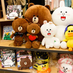 LINE Friends Store & Cafe @ Garosugil, Sinsa, South Korea