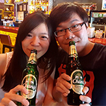 Discover Chang Beer New Green Bottle with Good Hand Feel