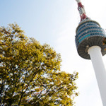 N Seoul Tower & Namsan Park @ Seoul, South Korea