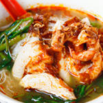 San Peng Prawn Mee @ Pudu KL: Prawn Mee with Poached Chicken