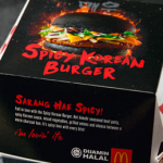 Spicy Korean Burger Mcdonald's Malaysia. Have You Tried?
