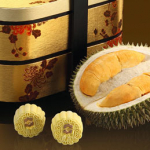 Limited Edition Musang King Durian Mooncakes, Shangri-La Hotel KL