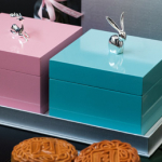 Concorde Hotel KL Mooncake 2018, Deer & Rabbit Figurines Giftboxes