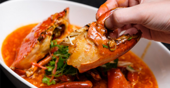 crab seafood dinner sessions resorts world sentosa singapore