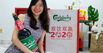 carlsberg 3 litre bottle